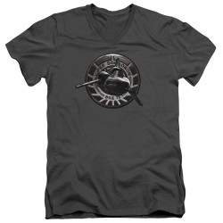 Image for Battlestar Galactica V Neck T-Shirt - Viper Squadron
