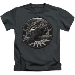 Image for Battlestar Galactica Kids T-Shirt - Raptor Squadron