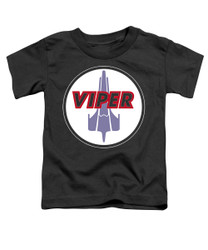 Image for Battlestar Galactica Toddler T-Shirt - Viper Badge