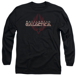 Image for Battlestar Galactica Long Sleeve Shirt - Logo with Phoenix