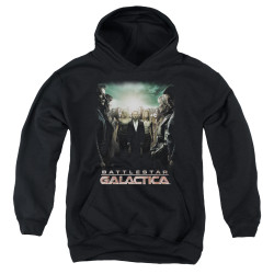 Image for Battlestar Galactica Youth Hoodie - Crossroads
