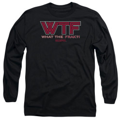 Image for Battlestar Galactica Long Sleeve Shirt - WTF