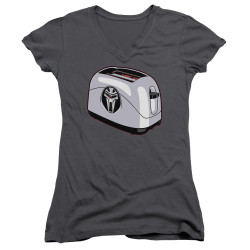 Image for Battlestar Galactica Juniors V Neck - Toaster
