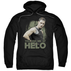 Image for Battlestar Galactica Hoodie - You Had Me at Helo