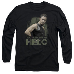 Image for Battlestar Galactica Long Sleeve Shirt - You Had Me at Helo