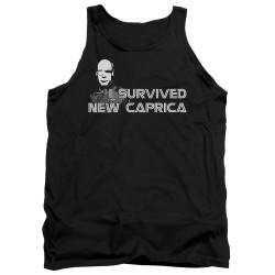 Image for Battlestar Galactica Tank Top - I Survived New Caprica