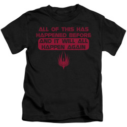 Image for Battlestar Galactica Kids T-Shirt - It Will Happen Again