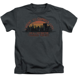 Image for Battlestar Galactica Kids T-Shirt - Carpica City