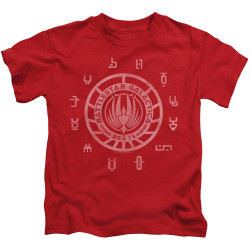 Image for Battlestar Galactica Kids T-Shirt - Colonies