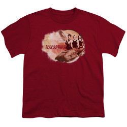 Image for Battlestar Galactica Youth T-Shirt - Galactica Pilots