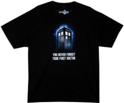 Image for Doctor Who T-Shirt - You Never Forget Your First Doctor