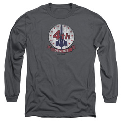Image for Battlestar Galactica Long Sleeve Shirt - Demons Badge