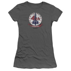 Image for Battlestar Galactica Juniors T-Shirt - Demons Badge