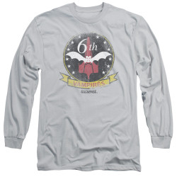 Image for Battlestar Galactica Long Sleeve Shirt - Vampires Badge