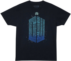 Image for Doctor Who T-Shirt - Quote Tardis