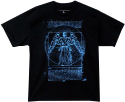 image for Doctor Who T-Shirt - Vitruvian Angel