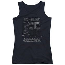 Image for Battlestar Galactica Juniors Tank Top - Together Now