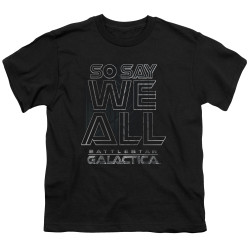 Image for Battlestar Galactica Youth T-Shirt - Together Now