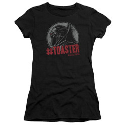 Image for Battlestar Galactica Juniors T-Shirt - #Toaster