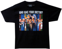 Image for Doctor Who T-Shirt - Montage