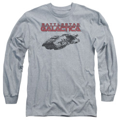Image for Battlestar Galactica Long Sleeve Shirt - Ship Logo