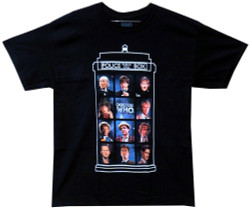 Image for Doctor Who T-Shirt - 50 Years, 11 Doctors