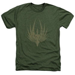 Image for Battlestar Galactica Heather T-Shirt - Phoenix