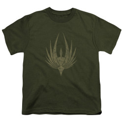 Image for Battlestar Galactica Youth T-Shirt - Phoenix