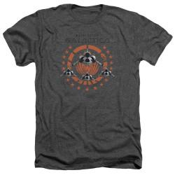 Image for Battlestar Galactica Heather T-Shirt - Squadron