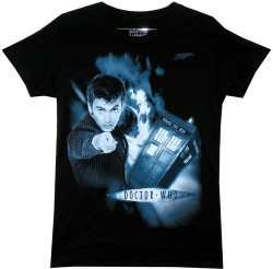 Image for Doctor Who Girls T-Shirt - David Tennant Girls T-Shirt