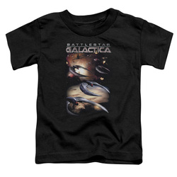 Image for Battlestar Galactica Toddler T-Shirt - When Cylons Attack