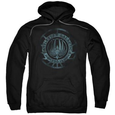 Image for Battlestar Galactica Hoodie - Faded Emblem