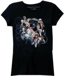Image for Doctor Who Girls T-Shirt - All the Doctors