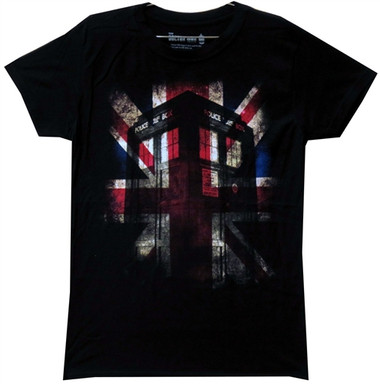 Image for Doctor Who Girls T-Shirt - Union Jack