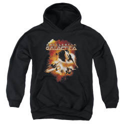 Image for Battlestar Galactica Youth Hoodie - Vipers Stretch