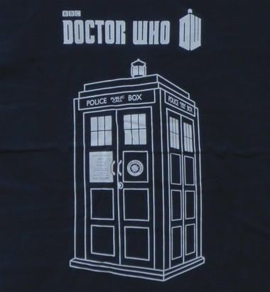 Image for Doctor Who Tank Top - Linear Tardis