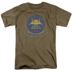 Image for Battlestar Galactica T-Shirt - Raptor Badge