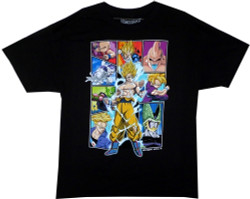 Image for Dragon Ball Z T-Shirt - Character Frames
