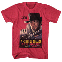 Image for Clint Eastwood T-Shirt - A Fistful of Dollars
