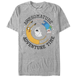 Image for Adventure Time Awesome Round T-Shirt