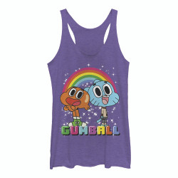 Image for Gumball Womens Tank Top - Best Friends