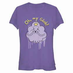 Image for Adventure Time Juniors T-Shirt - Oh My Glob
