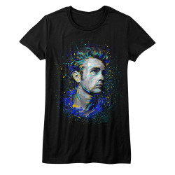 Image for James Dean Girls T-Shirt - Fishy