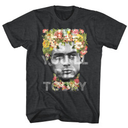 Image for James Dean T-Shirt - Flower Crown