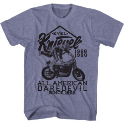 Image for Evel Knievel T-Shirt - All American Daredevil