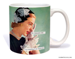 Image for My Mascara Ran Coffee Mug
