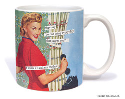 Image for I Think I'll Call My Mother Coffee Mug