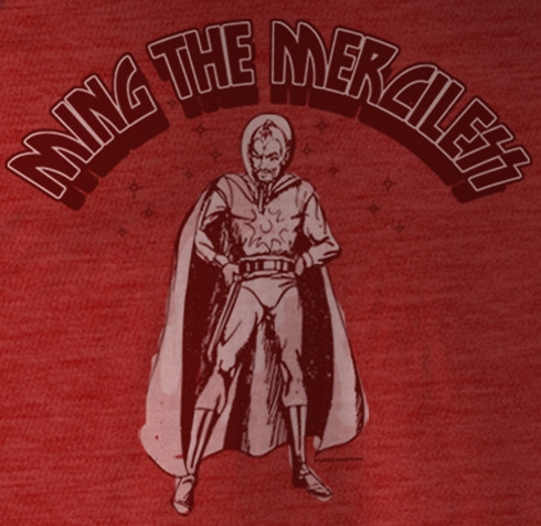 21022fa916078 Flash Gordon Ming the Merciless T-Shirt. Loading zoom. Hover over image to  zoom
