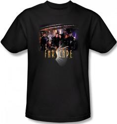 Image Closeup for Farscape Cast T-Shirt