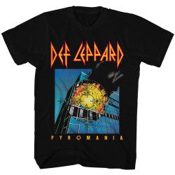 Image for Def Leppard T-Shirt - Classic Pyromania